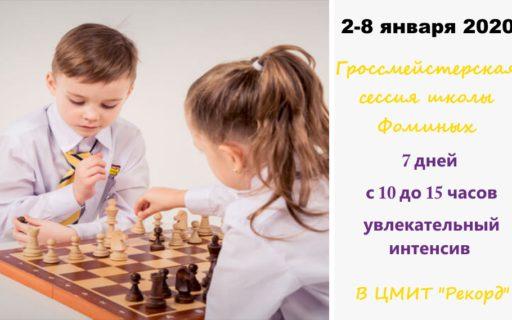 Гросместерская сессия школы Фоминых